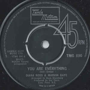 Diana Ross & Marvin Gaye- You Are Everything