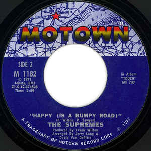 The Supremes-Nathan Jones/Happy (Is A Bumpy Road)
