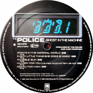 The Police- Ghost In The Machine