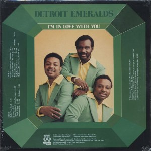 Detroit Emeralds – I'm In Love With You