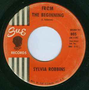 Sylvia Robbins ‎– Don't Let Your Eyes Get Bigger Than Your Heart / From The Beginning