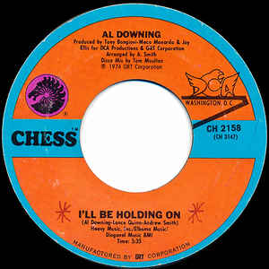 Al Downing- I'll Be Holding On/ Baby Let's Talk It Over