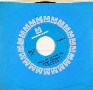 Bobby Sherman- Julie, Do Ya Love Me