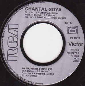 Chantal Goya- Babar/ La Poupée De Sucre