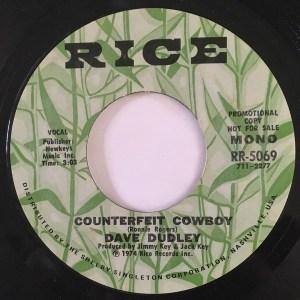 Dave Dudley- Counterfeit Cowboy