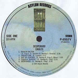 Eagles- Desperado