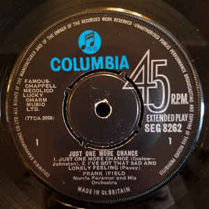 Frank Ifield- Just One More Chance