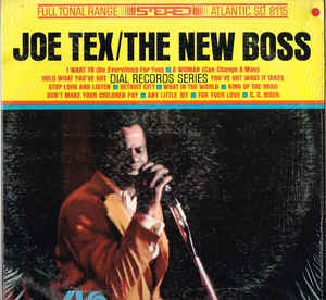 Joe Tex- The New Boss