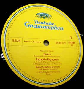 Maurice Ravel- Boston Symphony Orchestra. Seiji Ozawa-Bolero/  Rapsodie Espagnole/ La Valse