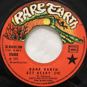 Rare Earth- Get Ready
