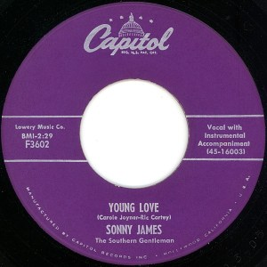 Sonny James- Young Love/ You're The Reason I'm In Love