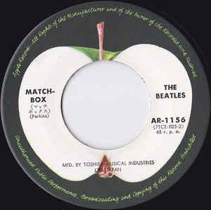 The Beatles- Matchbox/ Slow Down