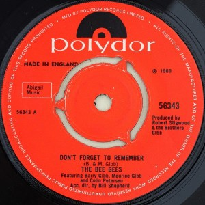 The Bee Gees- Don't Forget To Remember