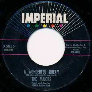 The Majors- A Wonderful Dream/ Time Will Tell