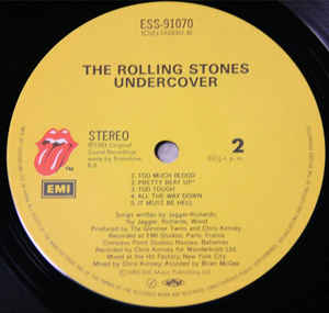 The Rolling Stones- Undercover