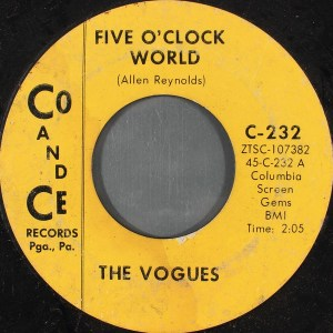 The Vogues- Five O'Clock World