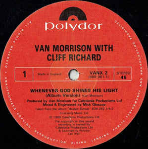 Van Morrison- Whenever God Shines His Light