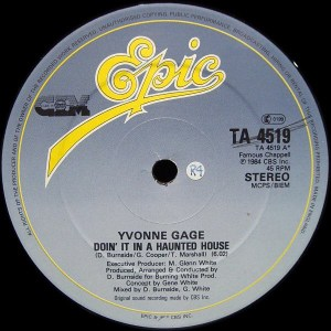 Yvonne Gage- Doin'It In A Haunted House
