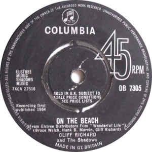 Cliff Richard & The Shadows- On The Beach
