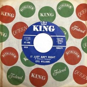 Otis Williams- It Just Ain't Right
