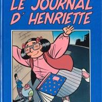 Le Journal d'Henriette, tome 2 de Charles Berberian & Philippe Dupuy