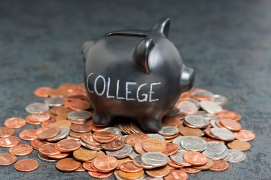 College Savings Piggy Bank