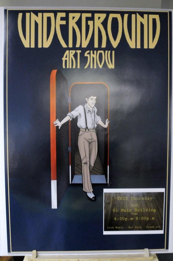"""Grcc Art Club Host """" Underground"""" Exhibit"""