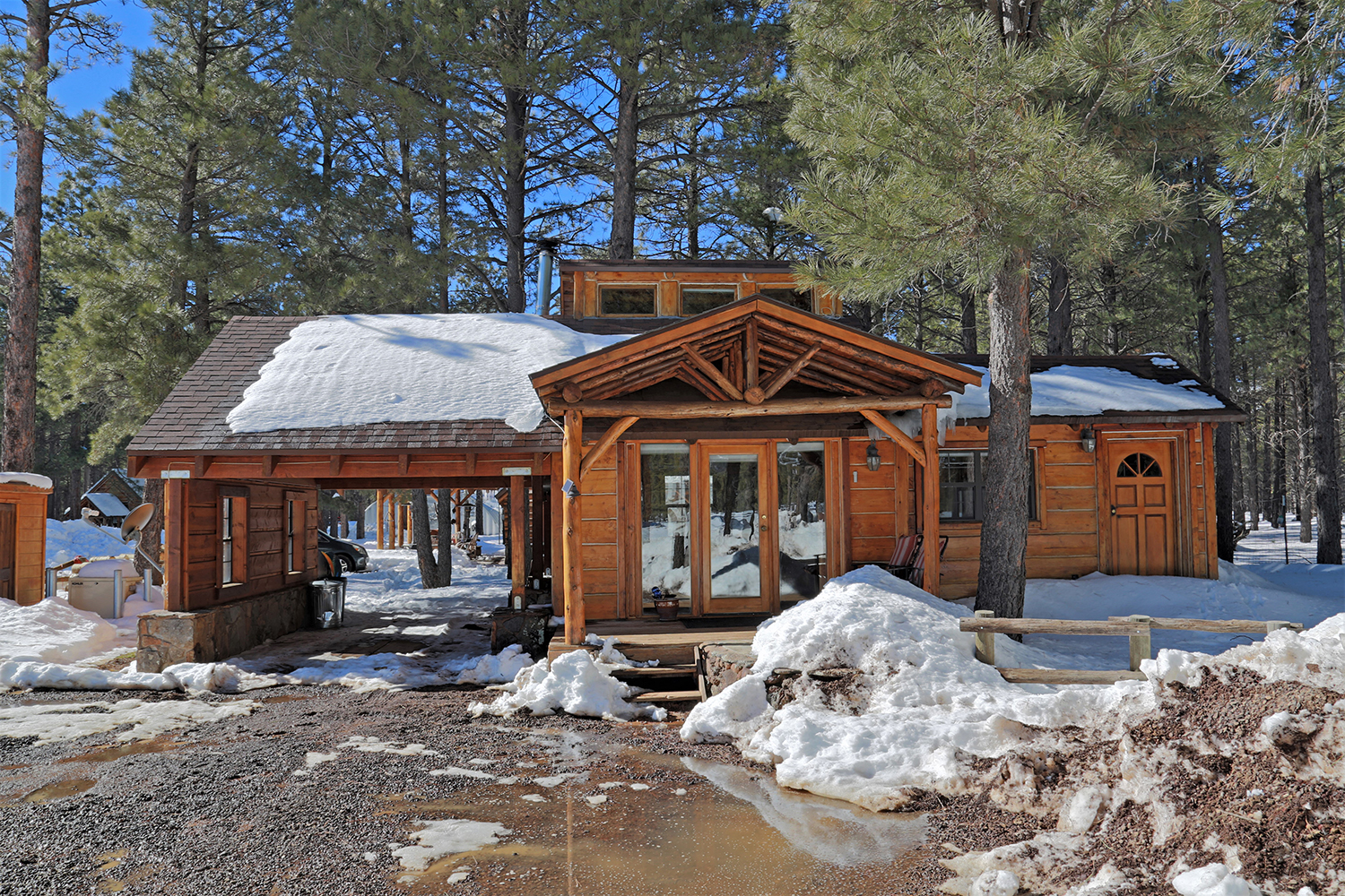 Off Grid Luxury Cabin for Sale in Flagstaff 16587 N