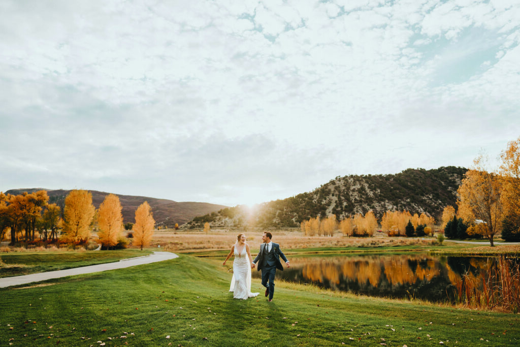 photo gallery of vail wedding