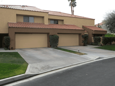 Two story building in Duna at La Quinta HOA