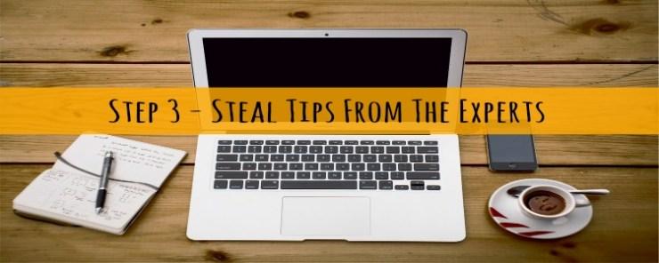 step 3 - work hacks