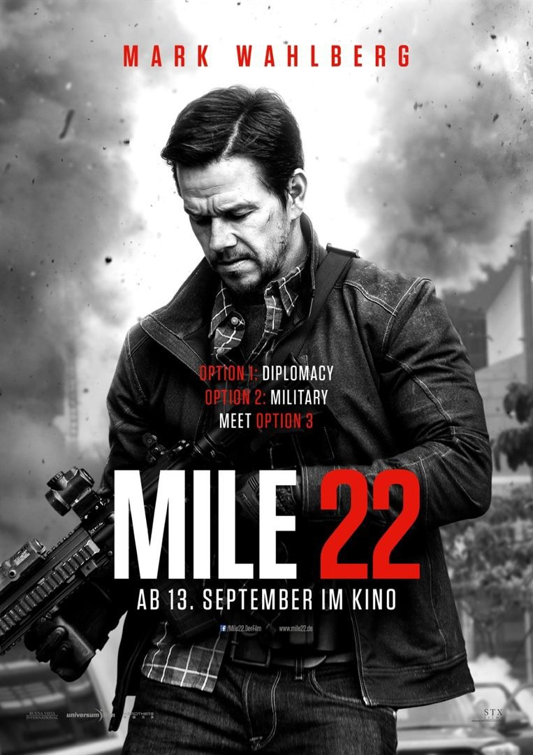 Mile 22 Poster