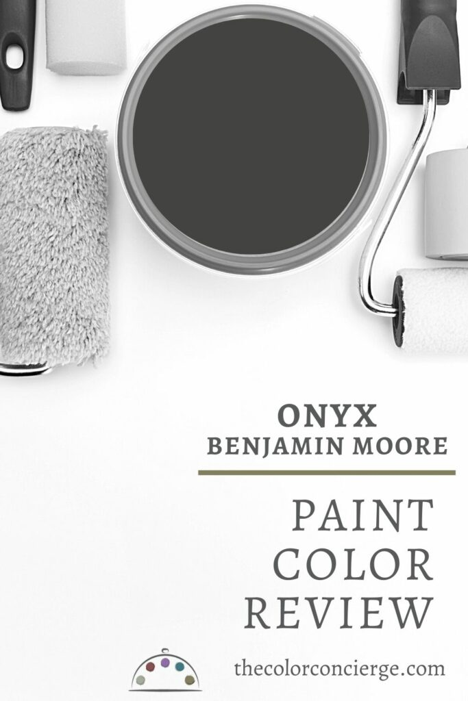 Benjamin Moore Black Onyx : benjamin, moore, black, Benjamin, Moore, (2133-10), Color, Review