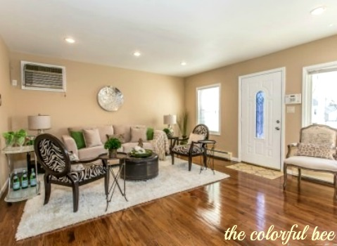 staging a living room laminate flooring and hall selling your home quickly staged elmont ny sells fastthe in