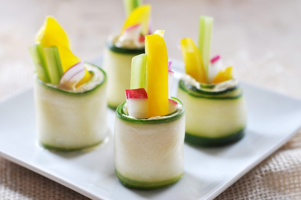 Raw Cucumber RollUps Vegan GlutenFree