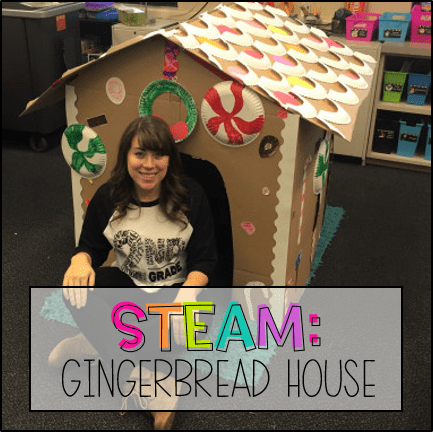 STEAM: Gingerbread House