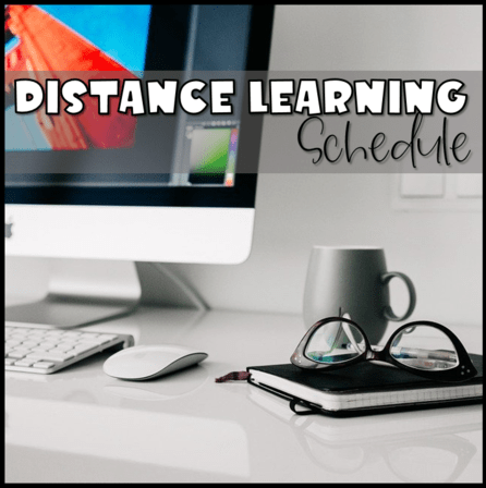 My Distance Learning Schedule