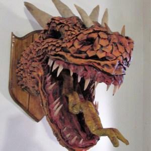 Wall Trophy Dragons