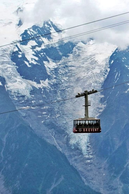 chamonix mont blanc cable car ride