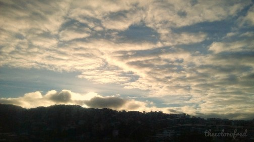 mine is the morning: sunrise in baguio city, philippines