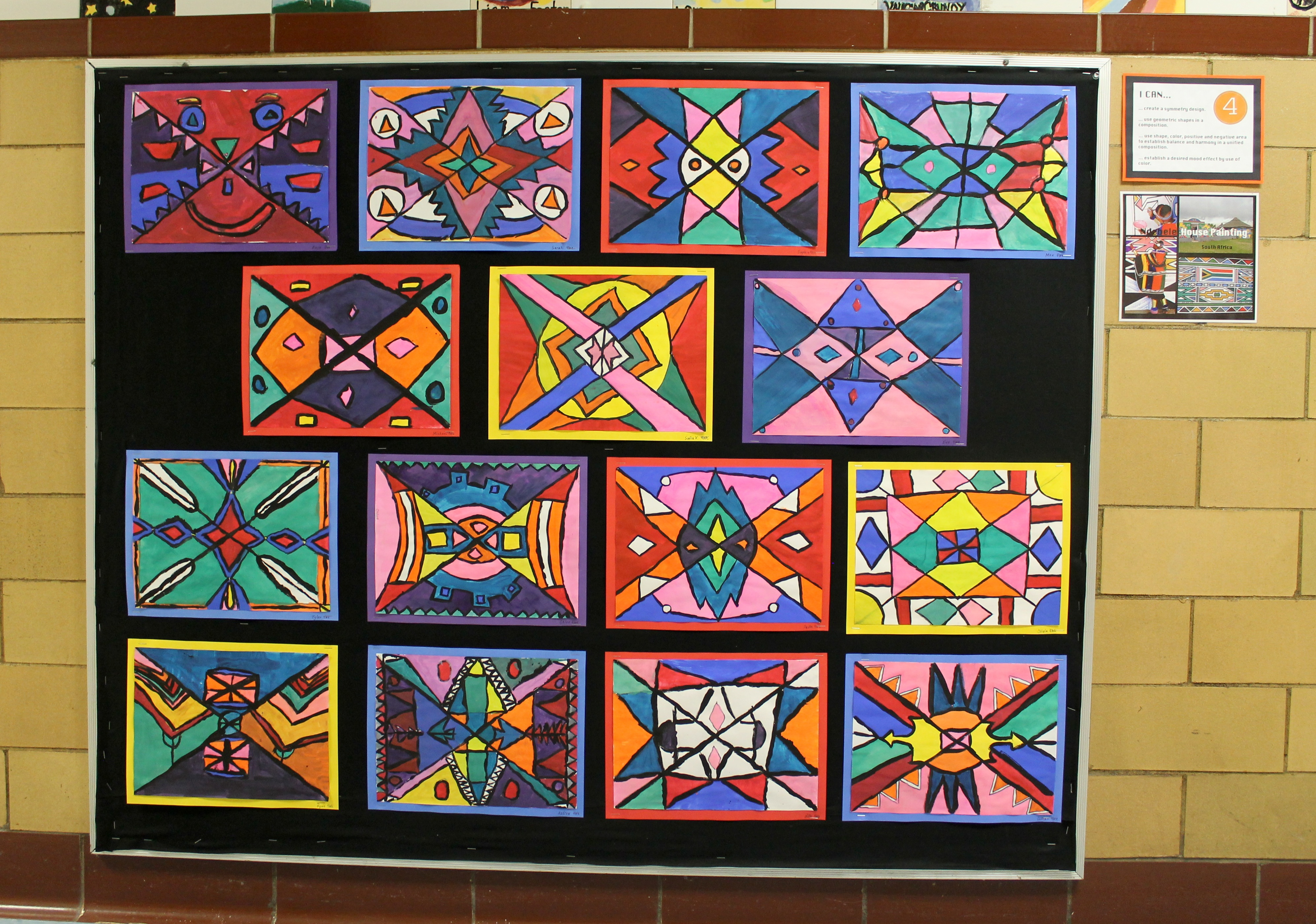Ndebele House Paintings 4th Grade