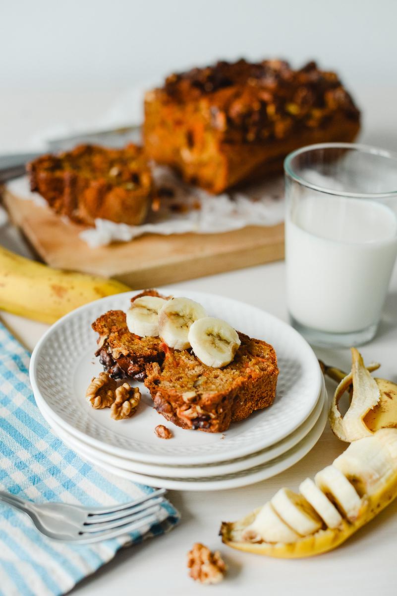banan bread cu morcovi