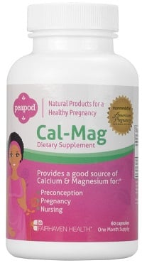 peapod cal mag calcium supplement women