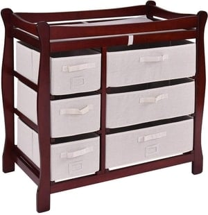 changing table drawers