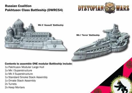 Pakhtusov Class Battleship