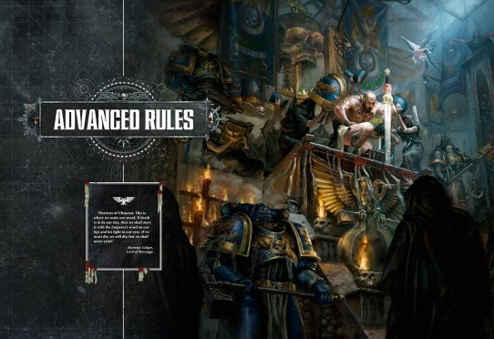 Warhammer 40,00 8th Edition Rule Book