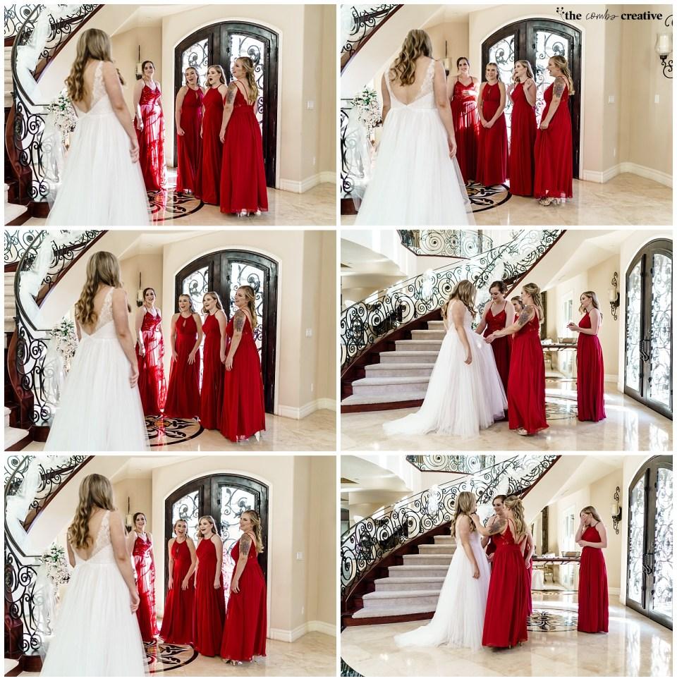 Bridesmaid photos in Las Vegas