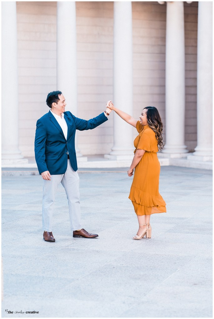 Romantic High End Engagement Photography in the Bay Area | Baker Beach Engagement Session | Leigion of Honor Engagement Session | Las Vegas Wedding Photographer | San Francisco Wedding Photographer | Destination Wedding Photographer | Bay Area Photographer | Las Vegas Engagement Photographer