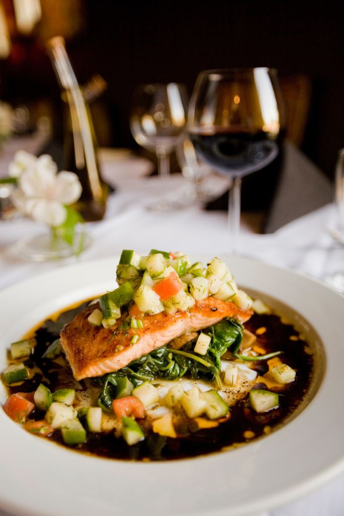 salmon contains omega 3 which helps hair growth