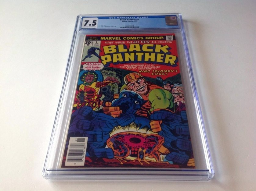 black panther graded comic